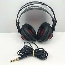 Scarlett Studio HP60 MKII Studio Headphones Red & Black Tested and fully working
