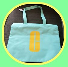 Clinique Tote Light Green Bag for Cosmetics, Makeup, Toiletries, Travel