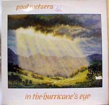 PAUL METSERS in the hurricane's eye LP Mint- SGM 279 Vinyl 1984 Record