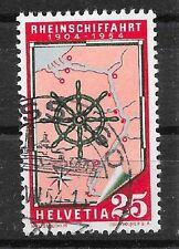 SCHWEIZ/ Schifffahrt MiNr 595 o