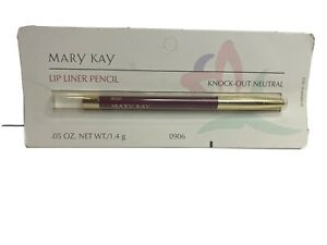 Mary Kay Lip Liner Lip Pencil Knock Out Neutral #0906 .05 oz Wooden Wood
