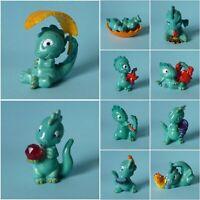 Ü-Ei Komplett-Satz - Die Drolly Dinos + BPZ -  Deutschland 1993