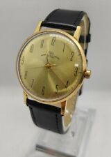 POLJOT - LUCH HAND WATCH MADE IN USSR GOLD PLATED AU -5 / 23 JEWELS HAND WIND