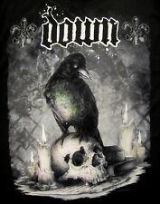 DOWN cd lgo JUMBO CROW / SKULL Official SHIRT LG New pantera Diary of a Mad band