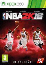NBA 2K16 Xbox 360 Game - New