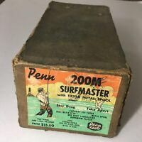 Vintage Penn SURFMASTER NO. 200M Fishing Reel ( BOX ONLY)