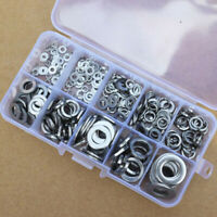 260Pcs Stainless Steel Washer Spring Pad Assortment Set Kit M2.5-M10