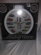 """Ford Mustang Clock. """"The History Of Mustang Clock. New In Package"""