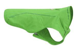 """Ruffwear Sun Shower Dog Waterproof Reflective Rain Jacket Meadow Green XL 36-42"""""""