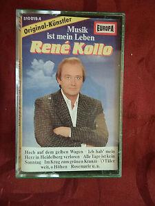 RENE KOLLO - Musik ist mein Leben - EUROPA MC 1986 - 12 Titel - Volkslieder -