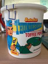 THUNDERBIRDS BUTTERKISS TOFFEE POPCORN BUCKET 200G 1993 GERRY ANDERSON
