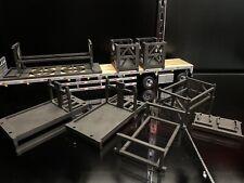 1/50 Conrad Terex Demag AC 1000 Mobile Crane Component Transportation Rack Set