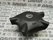 04 Nissan Almera Tino Black Leather 4 Spoke Steering Wheel Air SRS Bag 6005158C