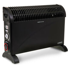 2KW PORTABLE HOME ELECTRIC THERMOSTAT CONVECTOR HEATER WITH TIMER & TURBO WINTER