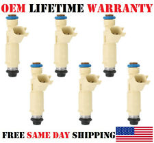Set/6 OEM DENSO Fuel Injectors for 2001-2002-2003 Ford Escape 3.0L V6 YL8E-C7B