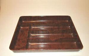 neuwertiger Besteck Kasten Art Deco Bakelite  Schweiz old Bakelite Cutlery Box