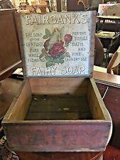 Fairbanks Fairy Soap Store Box
