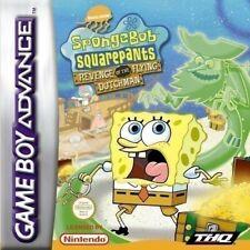 GameBoy Advance - SpongeBob Schwammkopf: Revenge of the Flying Dutchman Modul