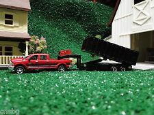 NEW! Ertl 1/64 Red Dodge RAM 2500 with gooseneck grain dump trailer ( No Box )