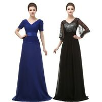 Plus Size Chiffon Mother Of The Bride Dresses Wedding Party Formal Evening Gown