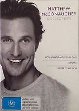MATTHEW MCCONAUGHEY COLLECTION - NEW & SEALED 3-DISC DVD (SAHARA, FAILURE, LOSE)