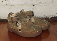 Aster brown suede leather  Shoes sz 19  / 4