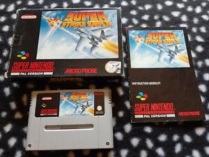 SNES - Super Strike Eagle - Complete Boxed (no insert)