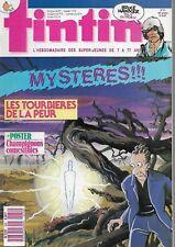 TINTIN N° 630 DE 1987 COMME NEUF + POSTER CHAMPIGNONS . COUVERTURE DE HUMBLET
