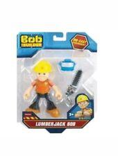 "Bob The Builder LumberJack Bob Die Cast Chainsaw Figure 5"" Toy New"