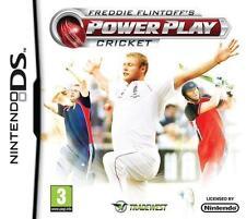 Freddie Flintoff's Power Play Cricket Nintendo DS 3 Game