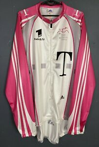 SHIRT T-MOBILE ADIDAS ITALIA ITALY MEN'S CYCLING JERSEY MAGLIA MAILLOT SIZE 3XL