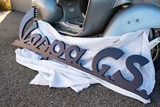 Enseigne Vespa Gran Sport GS Restaurée Bleu nuit Original Piaggio
