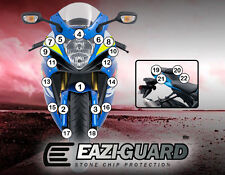 Eazi-Guard™ Suzuki GSXR600/750 2011-2017 Motorbike Stone Chip Protection Kit