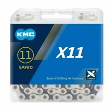 KMC X11 Sil/Blk 11 Speed Cycle Chain for Shimano/Campagnolo/Sram