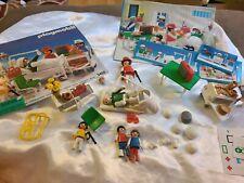 Playmobil Vintage Hospital Set 3495 Incomplete