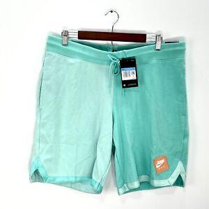 NWT Nike Air Jordan Men's Blue Logo Patch Standard Fit Sweat Shorts Sz XL