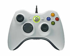 Microsoft Xbox 360 White Controllers and Attachments