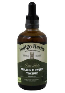 Mullein Flowers Herb Tincture 100ml - Indigo Herbs