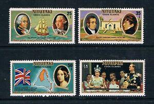 Aitutaki - 1977 - QEII Silver Jubilee - SC 148-151a [SG 225-MS229] MNH K3 - Nice