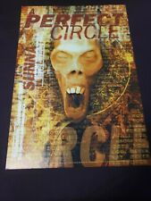 A Perfect Circle Poster Alien Face Tool Warfield San Francisco 9/1/2000