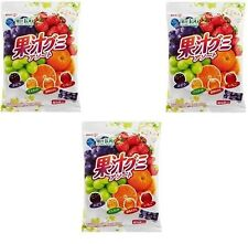 "JAPAN Meiji collagen juice gummy assorted 1 bag""90g""x 3 set / Free Shipping"