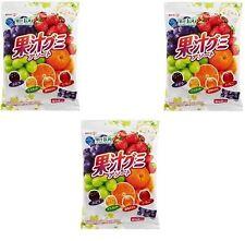 "JAPAN Meiji collagen juice gummy assorted 1 bag""90g""x 3 set / Free Shipping"