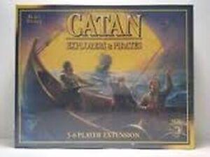 1x Catan : Explorateurs Et Pirates: 5-6 Lecteur Extension: 2013 Édition