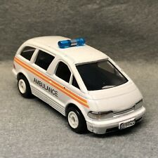 TOMY TOMICA TRACKMASTER RARE 1993 BATTERY AMBULANCE TW-07 SUPERB #1159