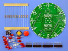 12 Position LED Electronic Lucky Rotary Board Kit for Arduino UNO R3, MD-E108U.