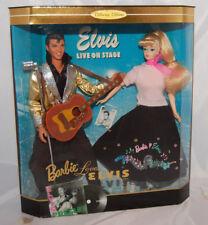 Elvis Presley and Barbie doll Collectors Set Live on stage