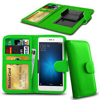 Clip On PU Leather Flip Wallet Book Case Cover For Xiaomi Redmi Note 3