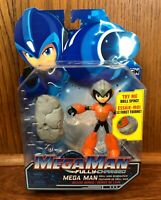 Mega Man Fully Charged Action Figure MOC New Jakks Pacific 2019 Cartoon Network