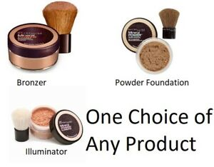 Maybelline Mineral Power Bronzer, Illuminator, Loose Powder Foundation U Choose!