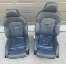 Audi A4 B8 B8.5 Front Left / Right Sport Seats Genuine OEM - Black